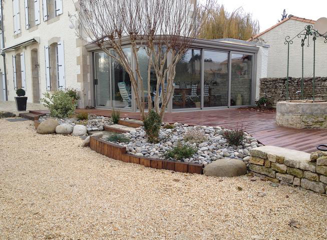 Paysagiste Niort 79 terrasse pavage dallage